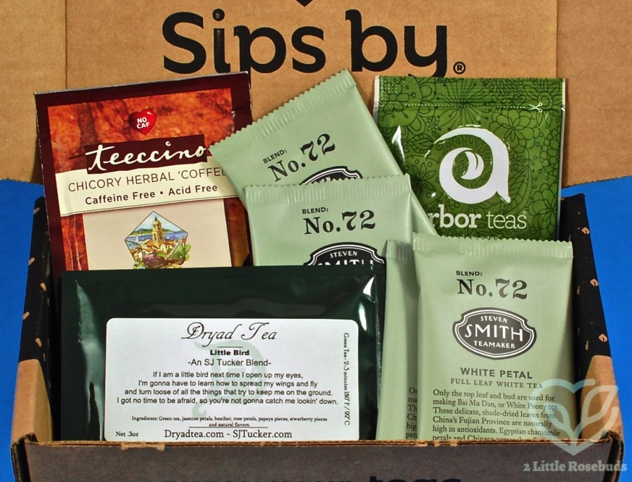 September 2019 Sips By box review