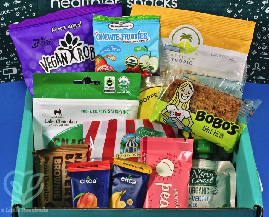 October 2019 SnackSack review