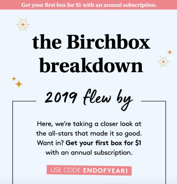 birchbox coupon
