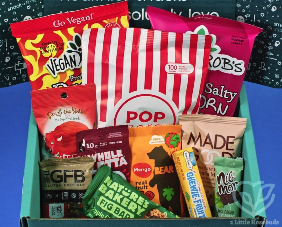 December 2019 SnackSack review