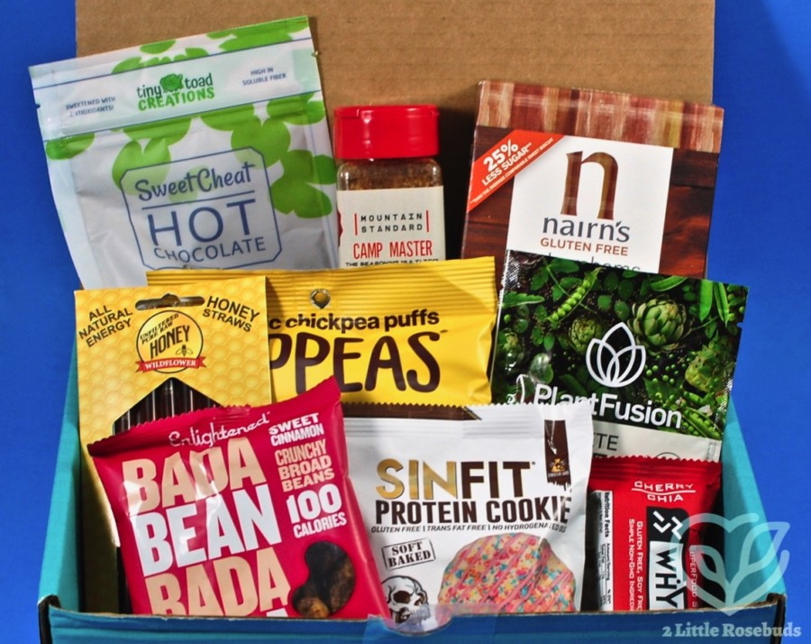 January 2020 Fit Snack review