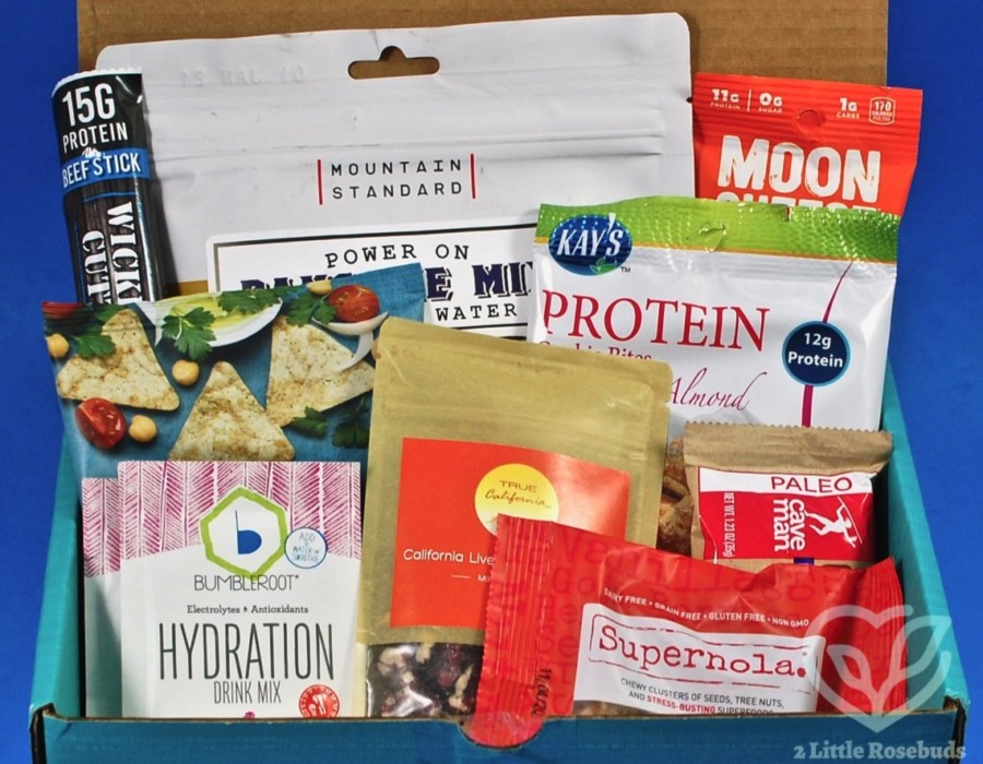 February 2020 Fit Snack review