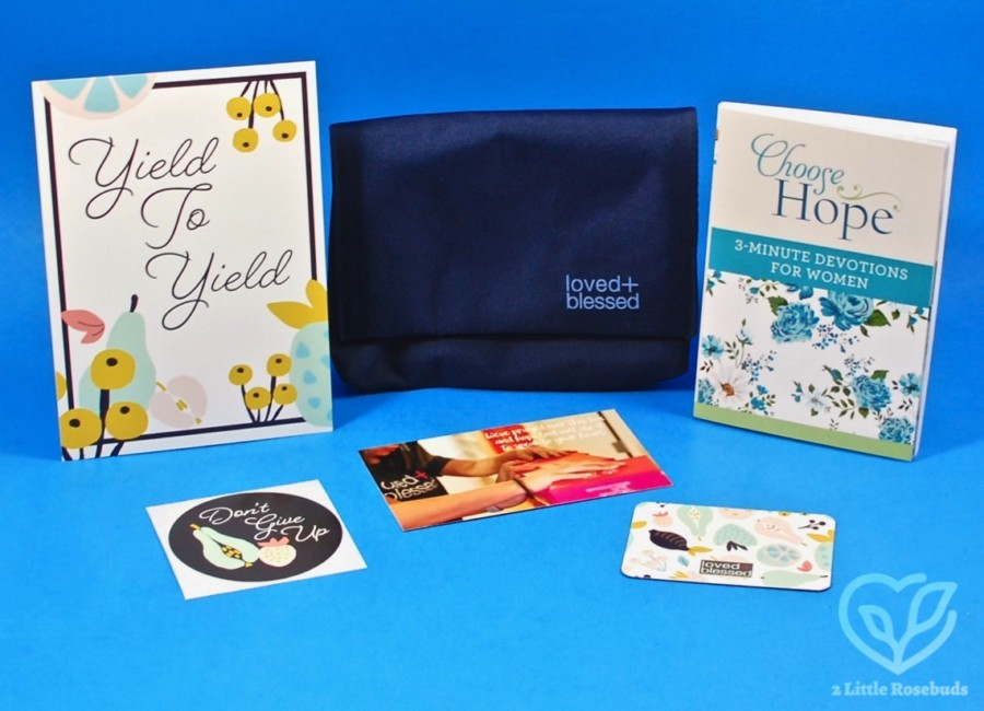 February 2020 Loved & Blessed box review
