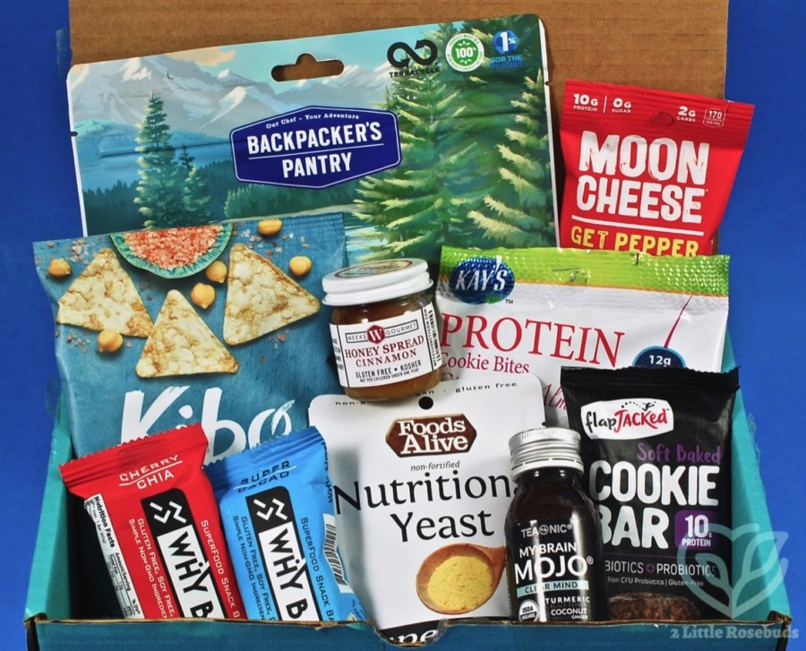 March 2020 Fit Snack review