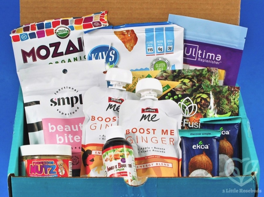 April 2020 Fit Snack review