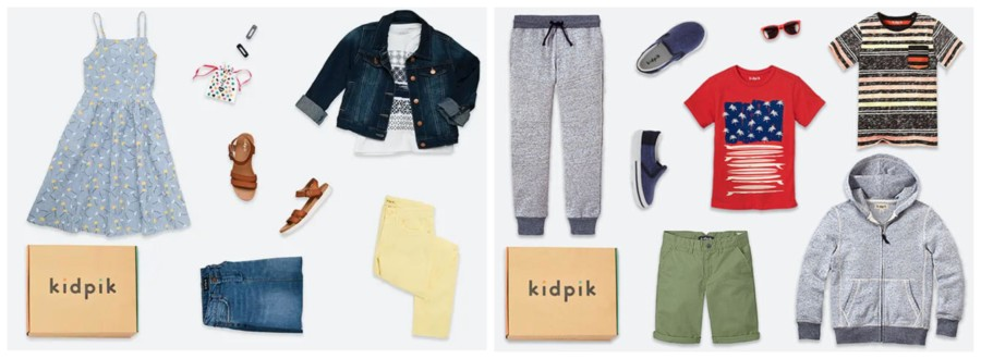 KidPik clothing you can try for free
