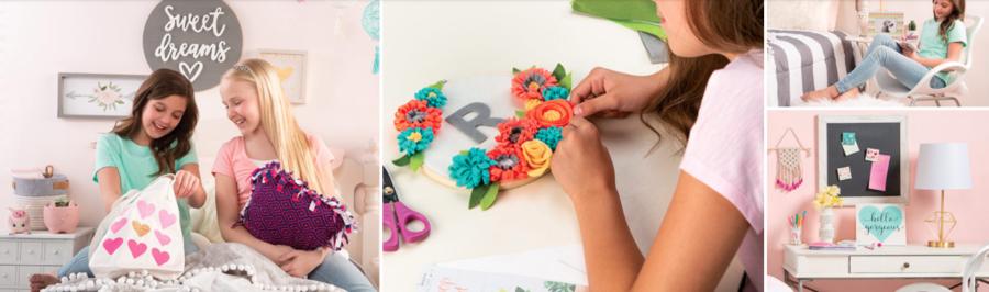 Annie's Creative Girls Club crafts