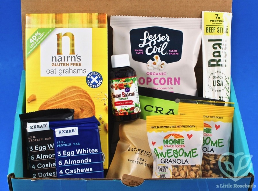 August 2020 Fit Snack review