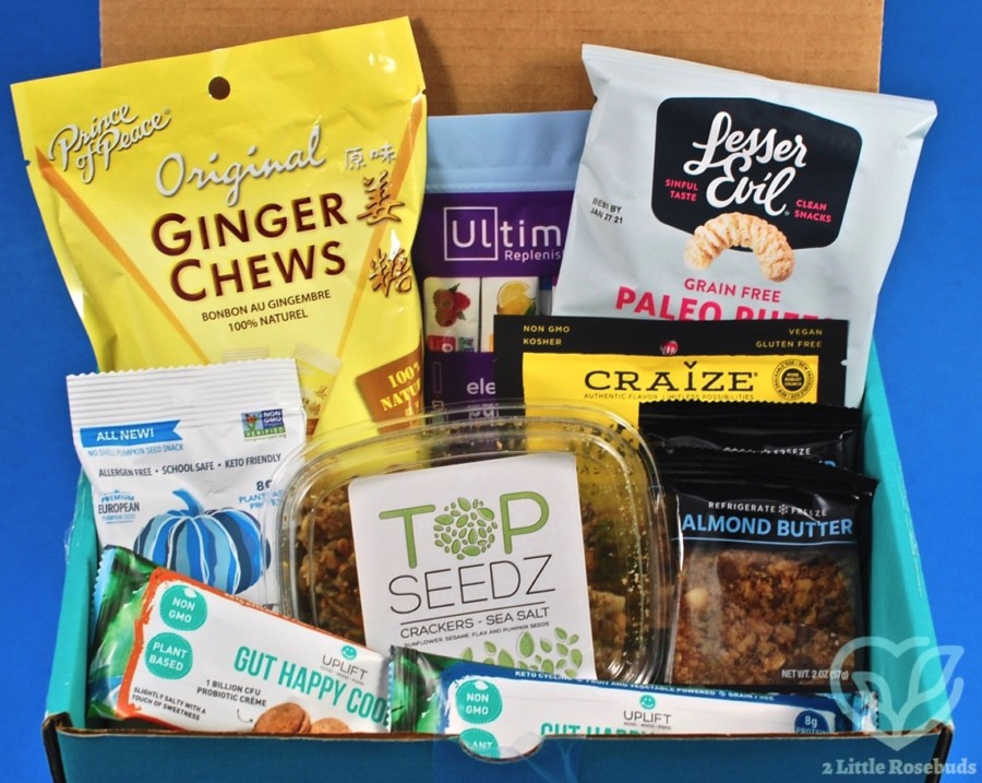 september 2020 fit snack box review